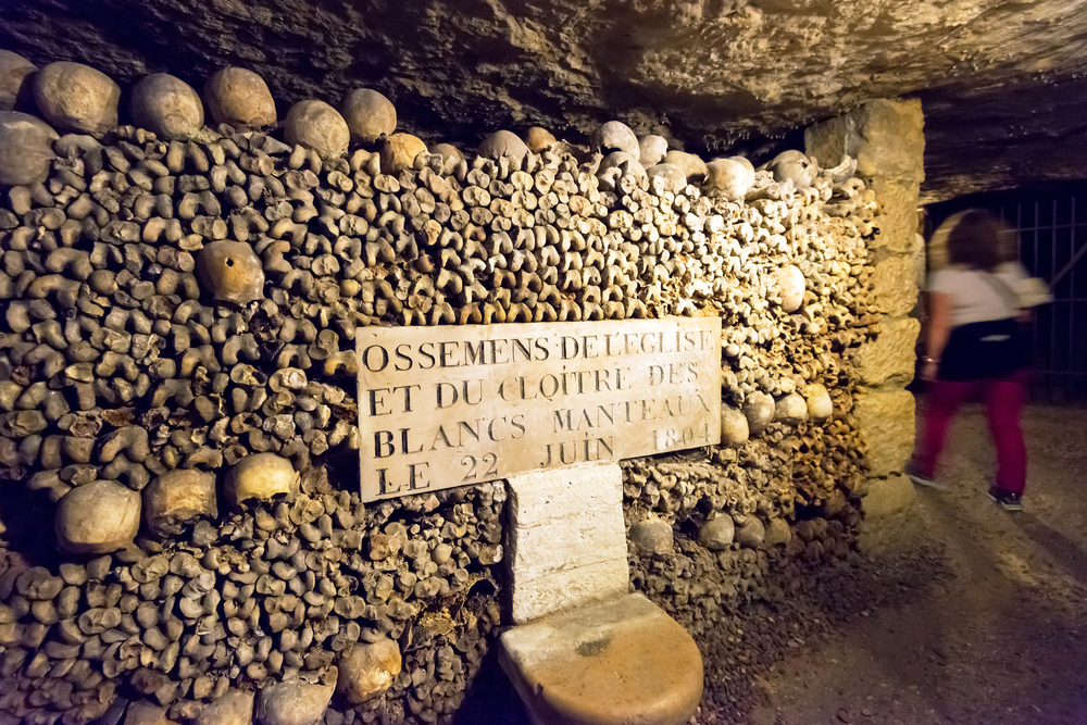 Kaplice czaszek - Paryż, Francja