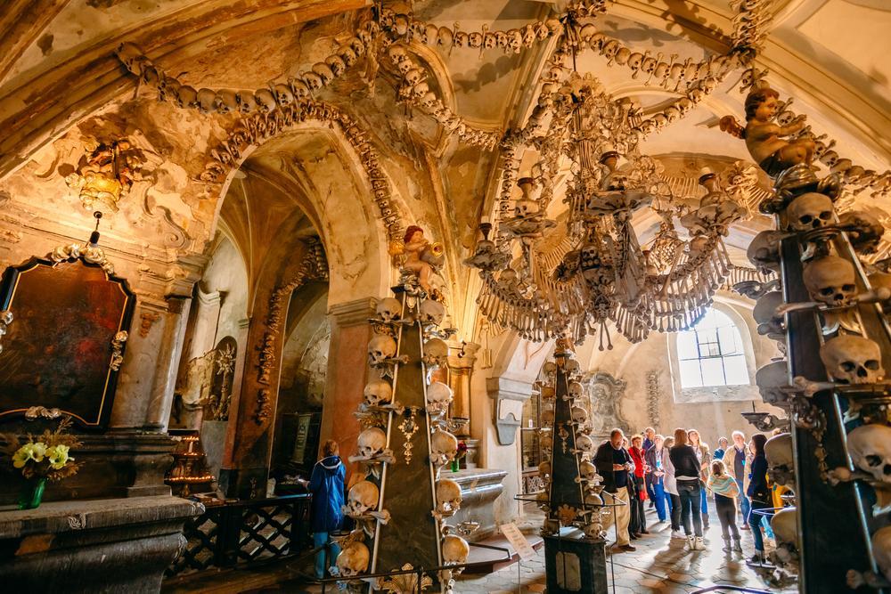Kaplice czaszek - Kutna Hora, Czechy
