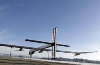 Samolot o nap�dzie s�onecznym ko�czy lot dooko�a �wiata