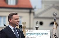 Andrzej Duda wygwizdany na meczu. Ca�e zaj�cie skomentowa� na Twitterze