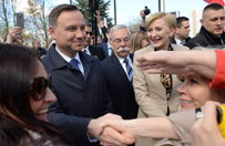 Najbardziej polska wizyta zagraniczna prezydenckiej pary