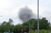Dym nad Katowicami. W hurtowni zabawek wybuch� po�ar