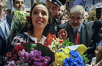 """Jamala """"bohaterką narodową"""" Ukrainy. W Kijowie witały ją tłumy"""