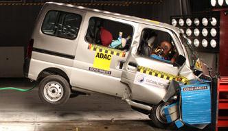 Suzuki Maruti Eeco - test zderzeniowy