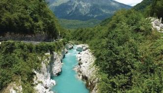 Spływ kajakowy rzeką Socza