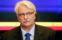 Witold Waszczykowski: Donald Tusk zachowuje się groteskowo