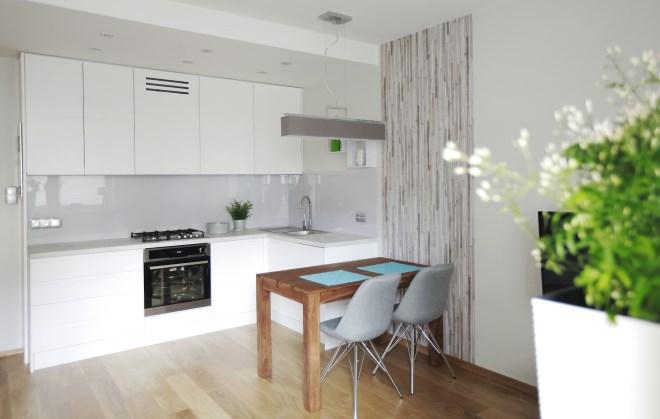 Aranżacja małego salonu z kuchnią  Dom  WP PL -> Aranżacja Salonu Z Kuchnią W Bloku