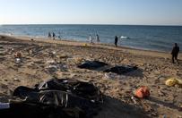 Co najmniej 85 ciał migrantów wyrzuconych przez morze na wybrzeżu Libii