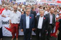 Zn�w odmienne szacunki na temat liczby uczestnik�w marszu Komitetu Obrony Demokracji