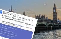 Co to jest Unia Europejska? - To wg Google najcz�ciej zadawane dzi� pytanie przez Brytyjczyk�w