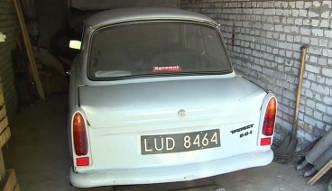 Znaleziony w garażu Trabant został sprzedany
