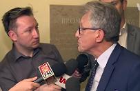 Awantura w Sejmie. Stanis�aw Piotrowicz wyprosi� dziennikarzy z posiedzenia, dosz�o do ostrej wymiany zda�