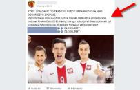 Na Facebooku grasuje nowy gro�ny wirus. Namawiaj�c do g�osowania ws powt�rzenia meczu z Portugali�, kradnie dane