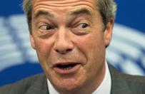 Nigel Farage obok Trumpa. Kandydat na prezydenta �agodzi stanowisko ws. imigracji