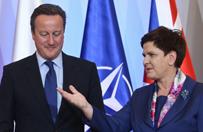 Premier Szyd�o rozmawia�a z brytyjskim premierem m.in. o sytuacji Polak�w w Wlk. Brytanii