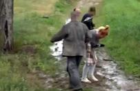 Dziennikarka i operator TVP pobici przez rozw�cieczonego rolnika