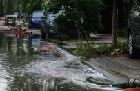 Nawałnice nad Polską - zalania, połamane drzewa