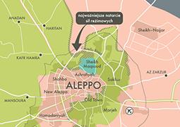 Syryjska armia odcięła drogę do rebelianckich dzielnic Aleppo
