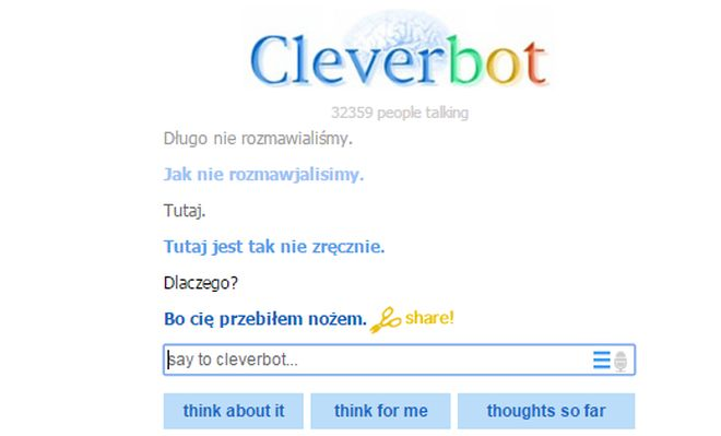 Fot. Cleverbot
