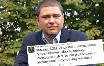 Skandaliczny apel Piotra Szumlewicza do uczestnik�w �DM wywo�a� ogromn� burz� w sieci