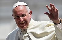 Papie� tu� przed wyj�ciem do okna na Franciszka�skiej 3