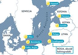 Popularne kurorty w krajach bałtyckich