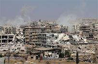Rosja i w�adze Syrii rozpoczynaj� operacj� humanitarn� w Aleppo. Asad oferuje amnesti� dla rebeliant�w, kt�rzy z�o�� bro�