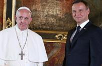 Prezydent Andrzej Duda ujawni� o czym rozmawia� z papie�em Franciszkiem