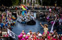 Unijna komisarz na paradzie gej�w w Amsterdamie