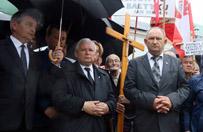 76. miesi�cznica katastrofy smole�skiej. Kaczy�ski: racja jest po naszej stronie, mamy poparcie wszystkich patriotycznych Polak�w