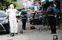 Policja: seria atak�w w Tajlandii to dzie�o jednej osoby