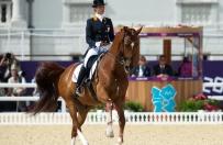 Zrezygnowa�a z walki o medal ze wzgl�du na dobro konia