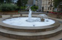 Che�m: pijani m�czy�ni wlali szampon do fontanny