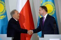 Duda: wizyta Nazarbajewa wyznacza nowe kierunki wsp�pracy Polski i Kazachstanu