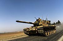 Turcy wjechali do Syrii
