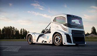 Ciężarówka Volvo bije rekordy prędkości