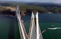 Prezydent Turcji Recep Tayyip Erdogan otworzy� most nad Bosforem