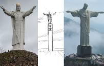 W Ja�le stanie gigantyczny pomnik Jezusa Chrystusa Kr�la Wszech�wiata