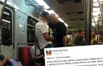 Rasistowski incydent w warszawskim metrze. Pijany m�czyzna zwyzywa� dwie Azjatki