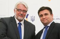 Szef MSZ Ukrainy: Polska do��czy do �rodowych rozm�w w sprawie Donbasu
