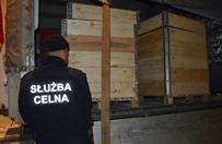Zawarto�� tych skrzy� zaskoczy�a pogranicznik�w z Podlasia
