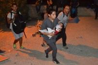 Wielki po�ar obozu dla migrant�w. Ewakuowano tysi�ce os�b