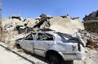 Atak na konw�j w Syrii. Zgin�o 12 wolontariuszy