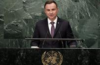 Prezydent Andrzej Duda zabiega� o poparcie kandydatury Polski do Rady Bezpiecze�stwa