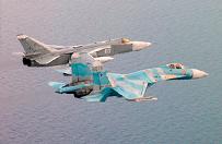 Rosyjskie my�liwce nad Ba�tykiem. Manewry lotnictwa marynarki