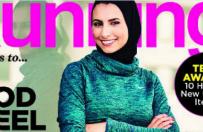 Kobieta w hid�abie na ok�adce ameryka�skiego magazynu fitness. Czytelnicy s� zachwyceni