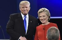 Debata Hillary Clinton z Donaldem Trumpem
