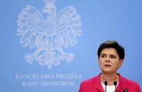 Rekonstrukcja rz�du. Premier Beata Szyd�o informuje o zmianach