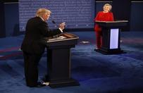 Clinton zdecydowanie wygra�a debat� z Trumpem