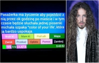 W Lublinie kobieta zam�wi�a taks�wk�, by je�dzi� po mie�cie i s�ucha�... piosenki Micha�a Szpaka